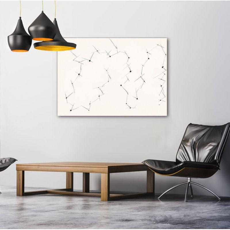 Cuadros modernos minimalistas geométricos para el salón- conexiones