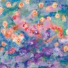 modern flower painting for the bedroom -germinate