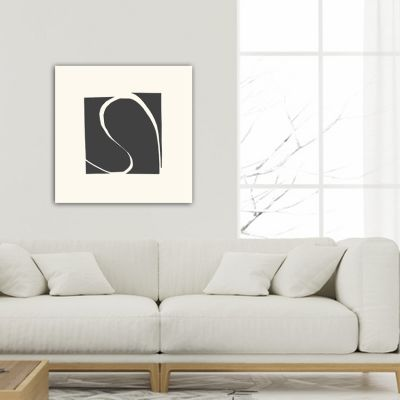 abstract minimalist geometric paintings to decorate the living room-complement