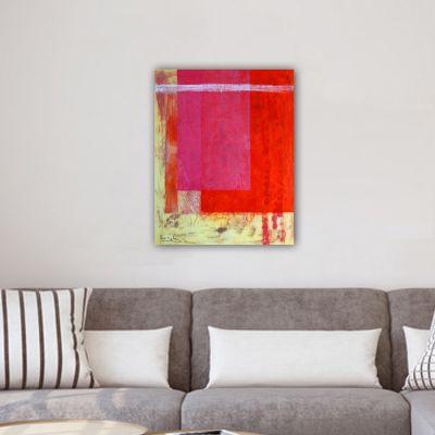 cuadro moderno abstracto-verano