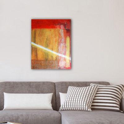 cuadro moderno abstracto-otoño