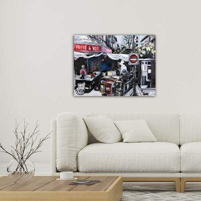 Tableau urbain marché à New York