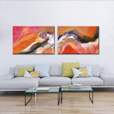 quadres moderns abstractes-espiral del temps