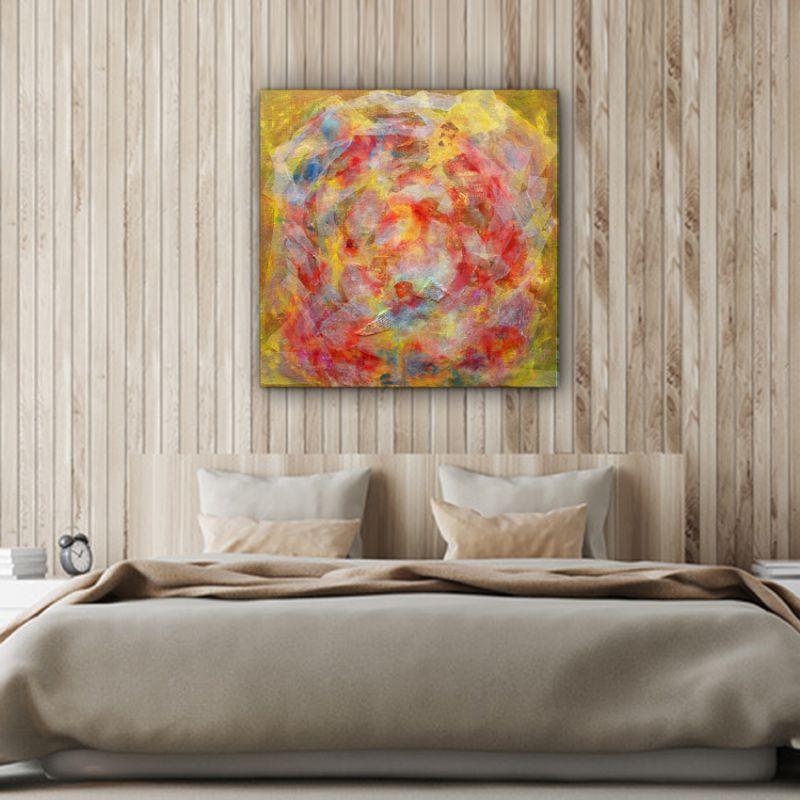 abstract modern paintings-atmosphere