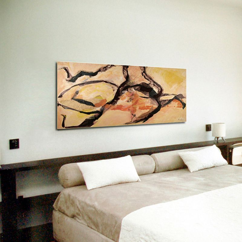 abstract modern  paintings. homesickness