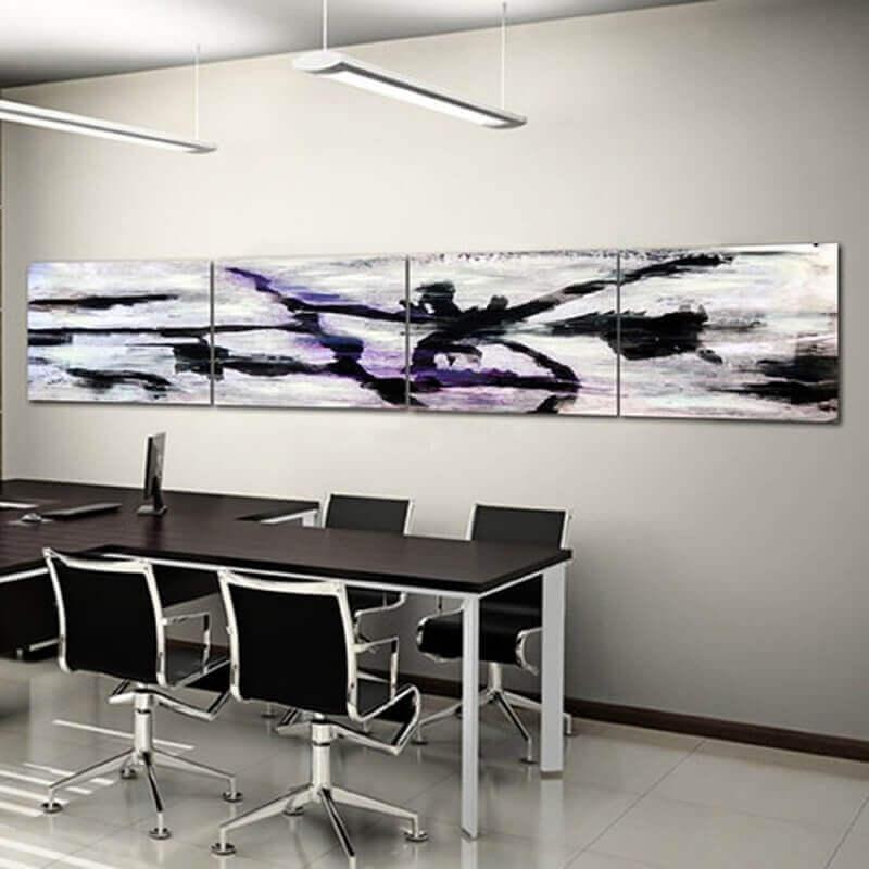 quadre abstracte modern-laberint obert
