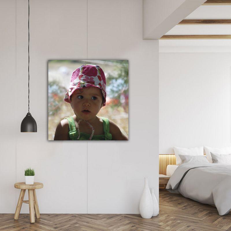 cuadro personalizado con tu foto. formato cuadrado