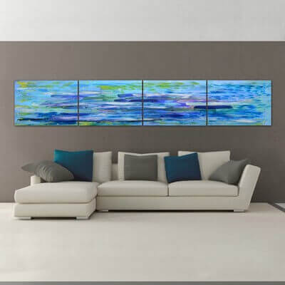 abstract painting depth