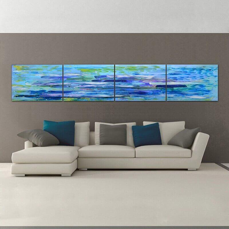 cuadros modernos abstracto profundidad