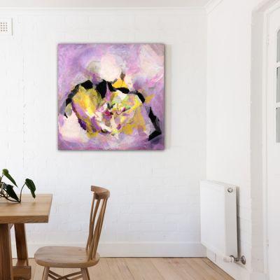 cuadros modernos abstractos para decorar espacios pequeños - núcleo amoroso