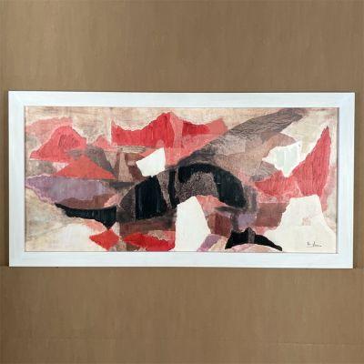"""canvas painting """"sueño compartido"""" 160 x 80 cm."""