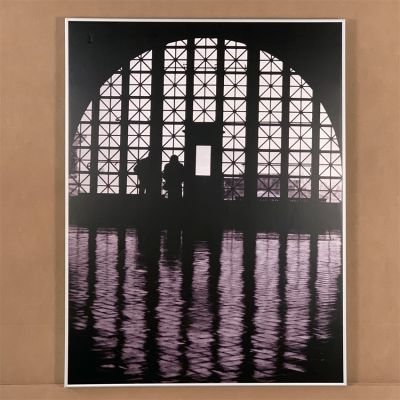 "photo frame ""Ellis island"" 60 x 80 cm."