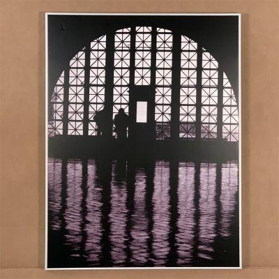 """tableau photo """"Ellis island"""" 60 x 80 cm."""