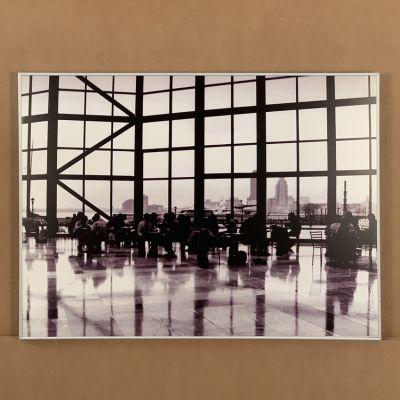 "tableau photo Hall ""New York"" 80 x 60 cm."