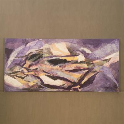 "canvas painting ""transgresión"" 150 x 70 cm."