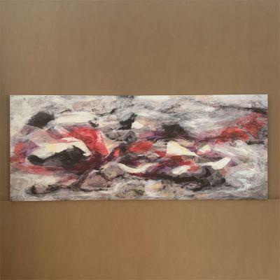 """quadre en canvas """"discernimiento"""" 170 x 70 cm."""