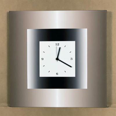 "rellotge paret ""DBQN"" 40 x 40 cm."