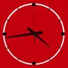reloj pared moderno diseño HCNR