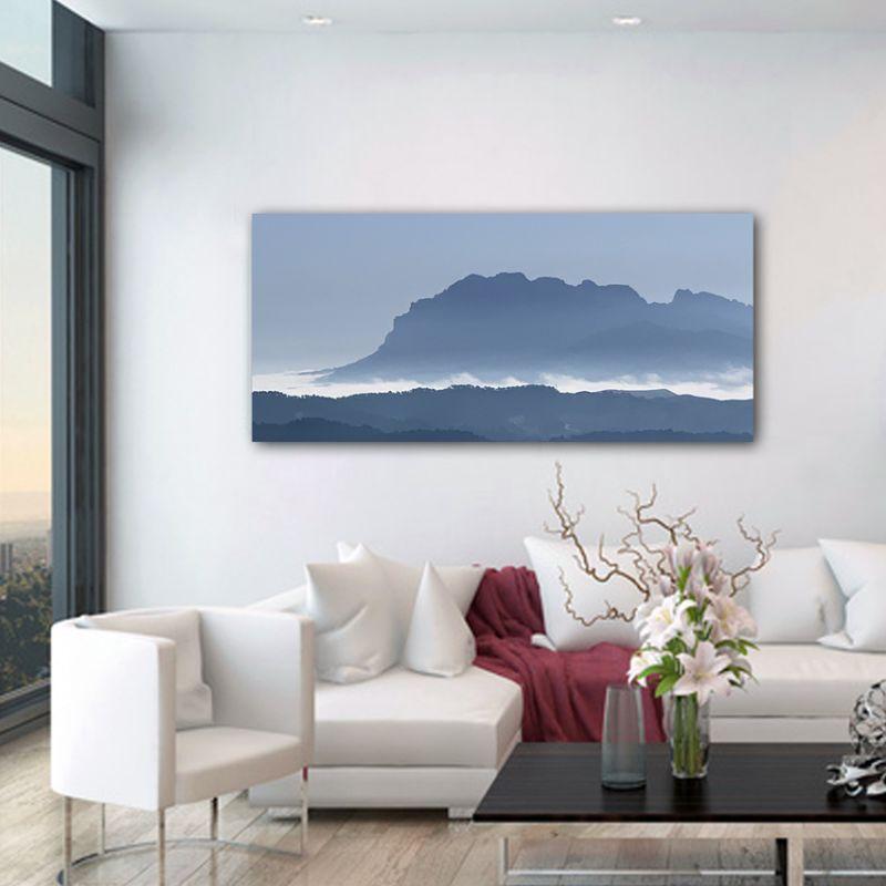 Tableau photographie paysage profile Montserrat