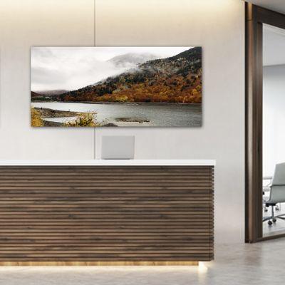 Tableau photographie paysage iautomne au bord du lac II
