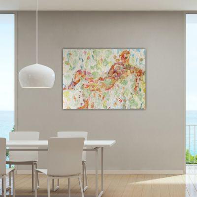 quadres moderns abstractes ideals per decorar el menjador-pluja de somnis