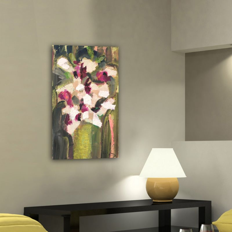 modern flower painting-bunch of orchids