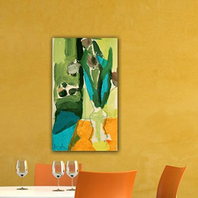 modern Flower painting-flowers and lemon II