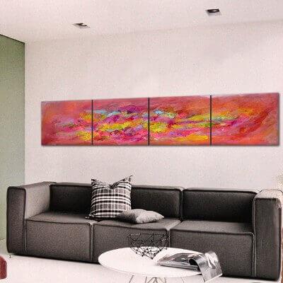 abstract painting awaken feelings