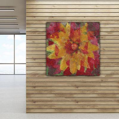 tableaux modernes abstraits de fleurs pour le salon-vivace