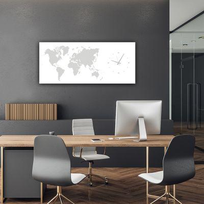 rellotges de paret moderns decoratius per l'oficina-MMWHITE