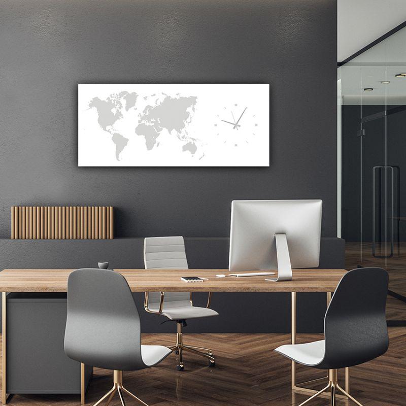 horloges murales modernes decoratif pour le bureau-MMWHITE