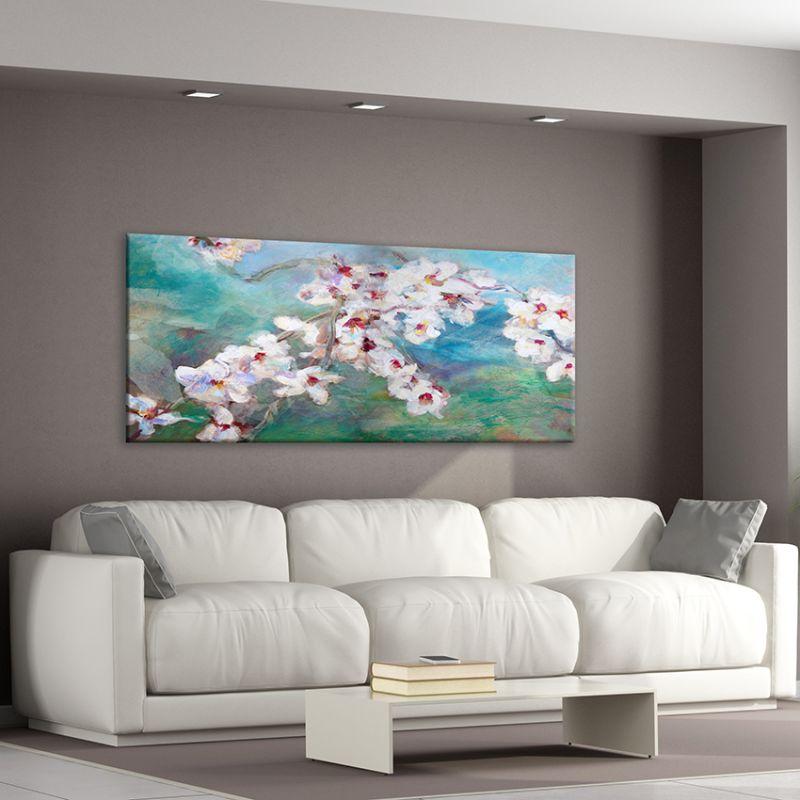 Quadres modern de flors pel menjador-flor d'ametller