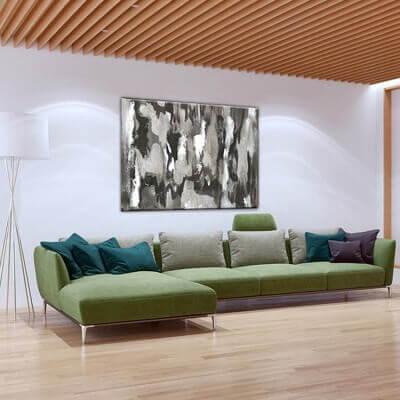Quadre abstracte llum i ombres