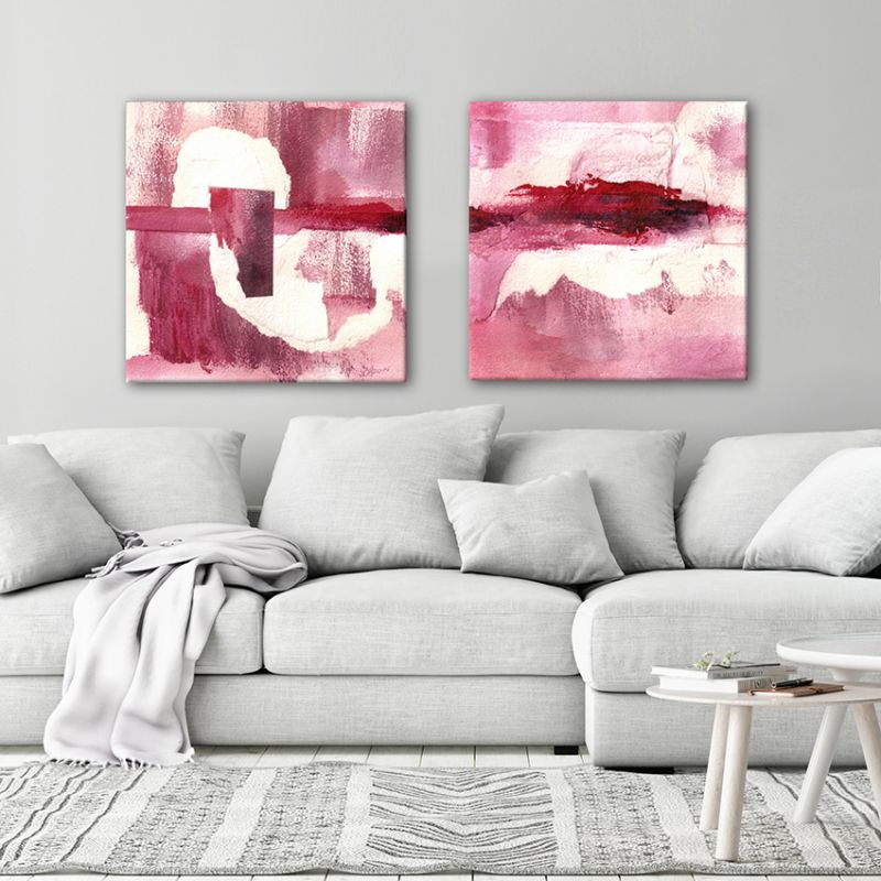 abstract modern paintings-silence content