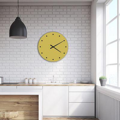 reloj de pared para cocina de diseño verde