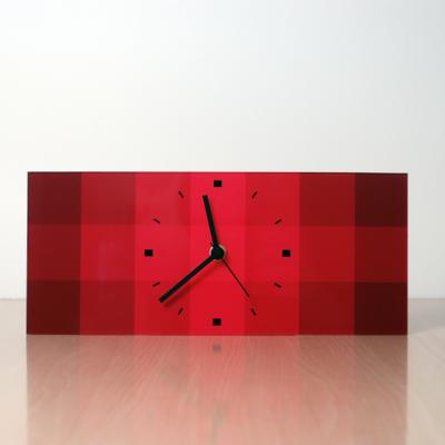 horloge décoratif de table design QRR