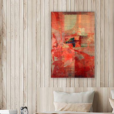 quadre modern figuratiu per decorar les parets de la teva llar -diàleg d'esquena a l'entorn