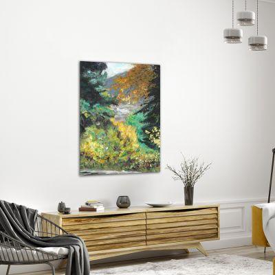 cuadros modernos de paisajes para el salón-Punto de vista