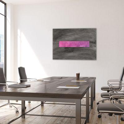cuadro moderno geométrico para decorar una oficina -incógnita
