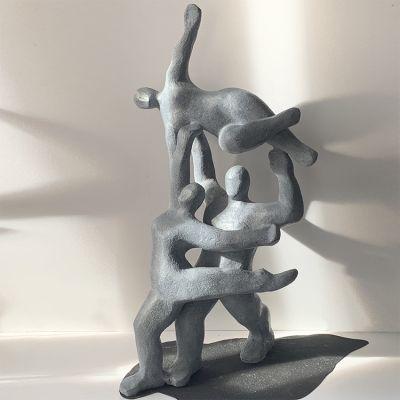 Sculpture moderne design des liens