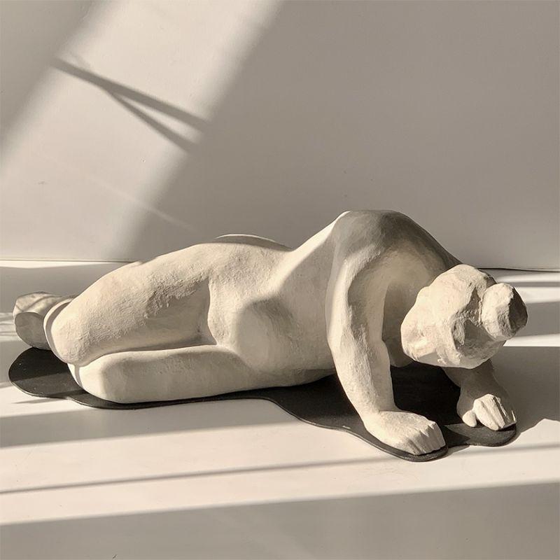 escultura moderna diseño levantarse