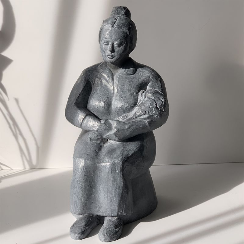 escultura moderna diseño añoranza