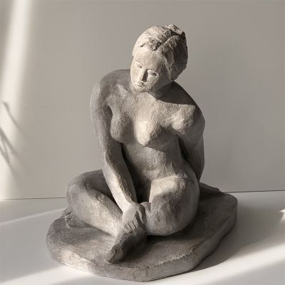 escultura moderna diseño dilucidar