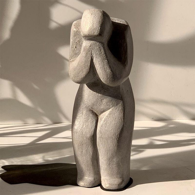 escultura moderna diseño constricción