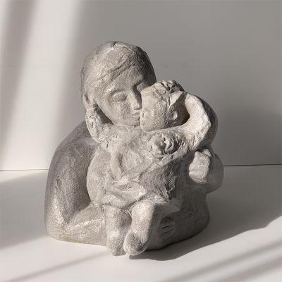 sculpture moderne design amour