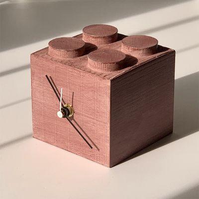rellotge de sobretaula decoratiu i modern pel menjador - disseny building 3