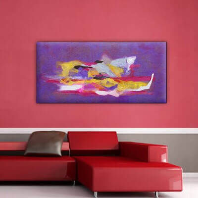 Abstract painting complementary II