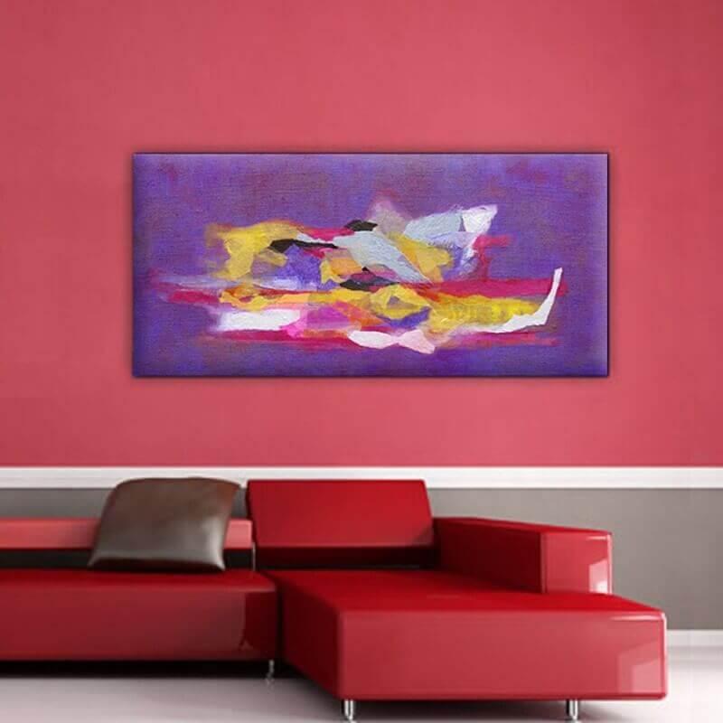 cuadro moderno abstracto. complementario II