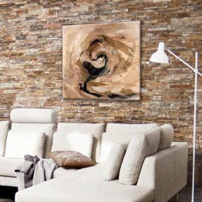 cuadros modernos abstractos para el salón-sin tí