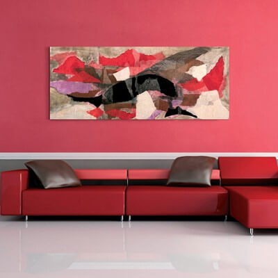 Abstract painting shared dream